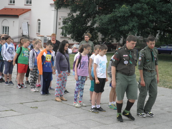"""Fotografie z artykułu: Klasa IVS uczestnikiem projektu """"Płock na Szóstkę"""""""