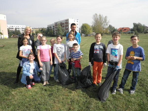Fotografie z artykułu: Sprzątanie Świata 2014