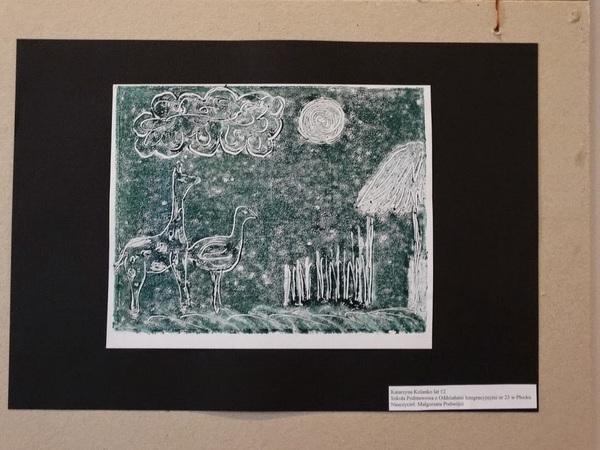 Fotografie z artykułu: VII Ogólnopolskie Biennale Grafiki Dzieci i Młodzieży. Mamy laureatów!