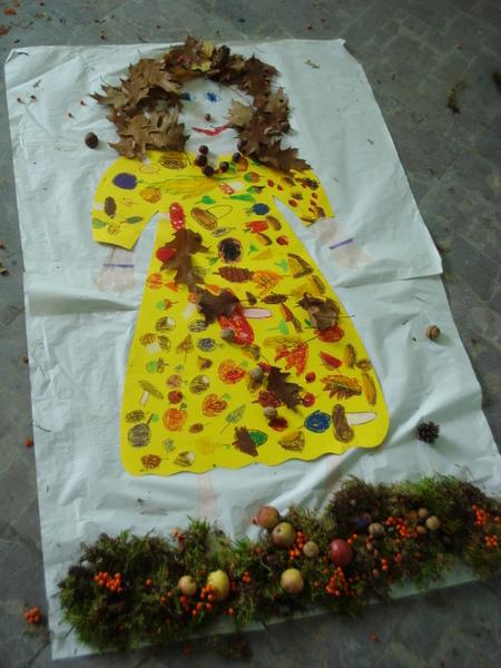 Fotografie z artykułu: Jesień w oczach dzieci.