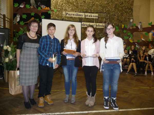Fotografie z artykułu: Sukcesy naszych uczniów w konkursach Ligi Ochrony Przyrody