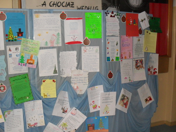 Fotografie z artykułu: List do Św. Mikołaja