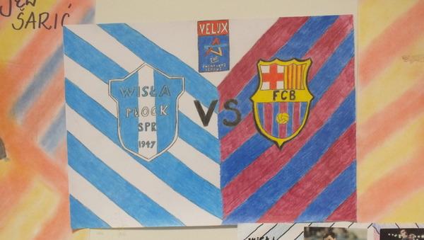 Fotografie z artykułu: Orlen Wisła Płock - FC Barcelona czyli wygląda na to, że przynosimy szczęście!