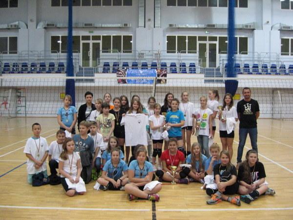 Fotografie z artykułu: Mini Liga siatkarska
