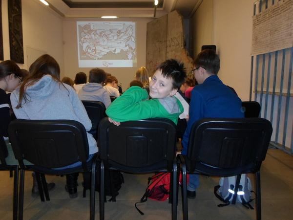 Fotografie z artykułu: Niezwykła lekcja w IPN