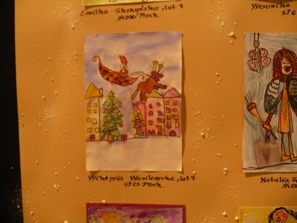 Fotografie z artykułu: Najpiękniejsze kartki świąteczne wybrano w MDKu!