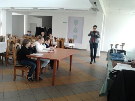 """Fotografie z artykułu: XXXVIII Ogólnopolski Turniej Wiedzy Pożarniczej """"Młodzież zapobiega pożarom""""."""