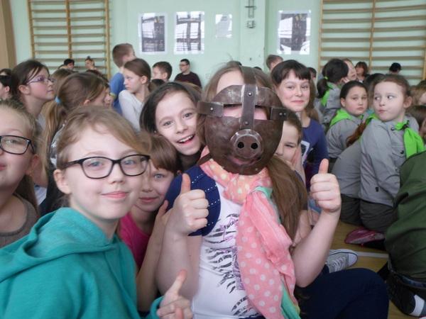 Fotografie z artykułu: Rycerze w naszej szkole