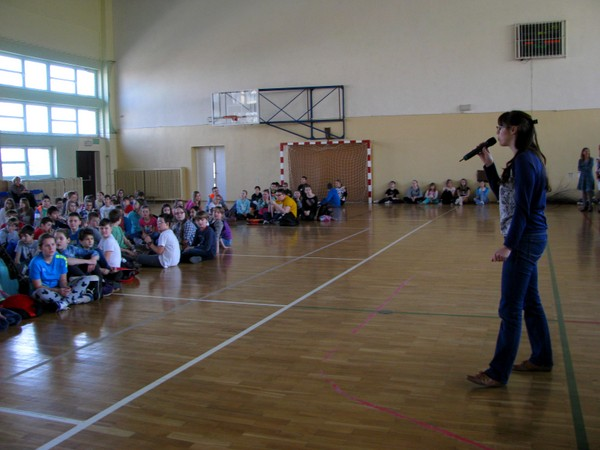 Fotografie z artykułu: Nasza szkoła wita wiosnę!