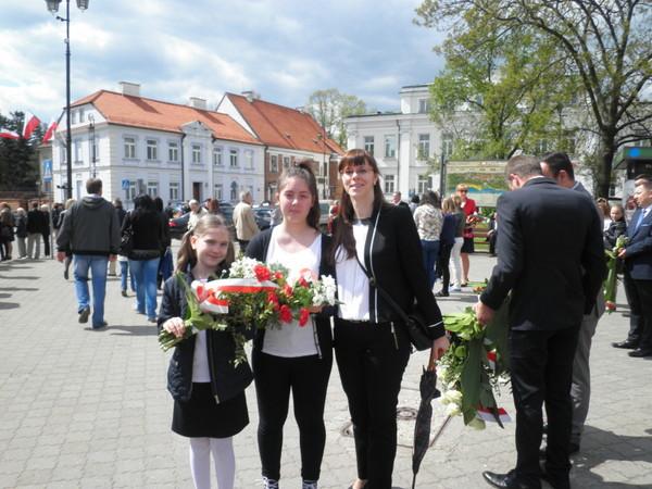 Fotografie z artykułu: Miejskie obchody 3 Maja