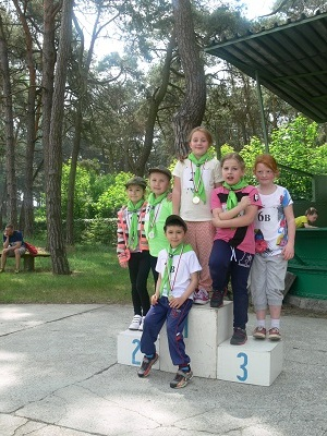Fotografie z artykułu: 'Bystre Orły' w V Płockich Biegach Rodzinnych