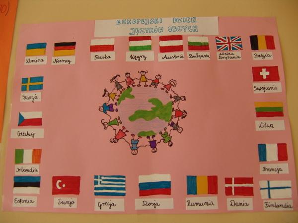 """Fotografie z artykułu: """"Języki to nasza siła"""" to hasło tegorocznych obchodów Europejskiego Dnia Języków."""