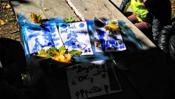 Fotografie z artykułu: Zuchy powitały  jesień na rajdzie ZHP