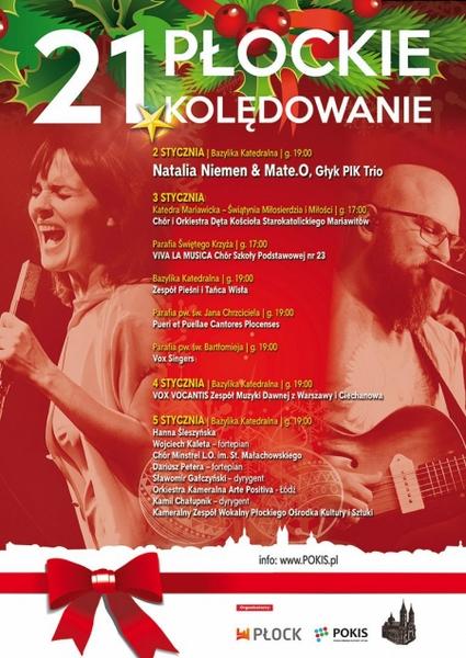 Fotografie z artykułu: Chór 'Viva la musica' na 21. PŁOCKIM KOLĘDOWANIU