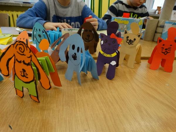 Fotografie z artykułu: Ferie spędzaliśmy w ... szkole!
