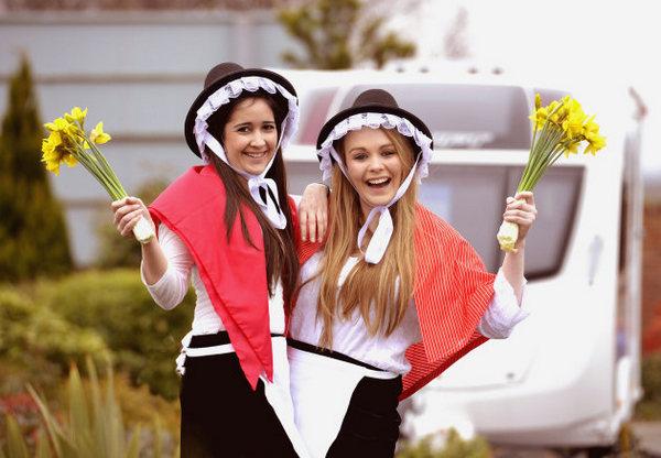 Fotografie z artykułu: Dzień Św Dawida, patrona Walii – St David's Day in Wales, 1st March
