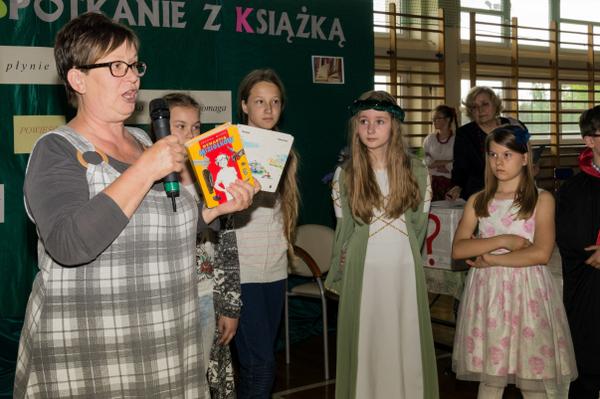 Fotografie z artykułu: Majowe spotkanie z książką