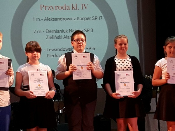 Fotografie z artykułu: Kolejna edycja Międzyszkolnej Ligi Przedmiotowej już za nami!