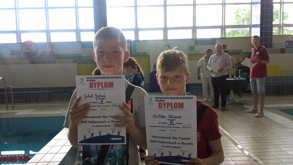 Fotografie z artykułu: Mistrzostwa Klas III Szkół Podstawowych w Pływaniu