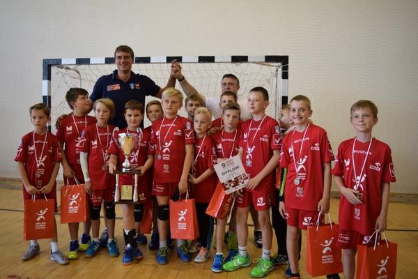 Fotografie z artykułu: Turniej finałowy ORLEN Handball Mini Ligi za nami