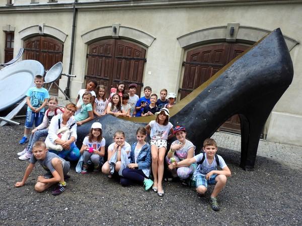 Fotografie z artykułu: Początek wakacyjnych przygód- czyli wycieczka klasy IIIc i Va!