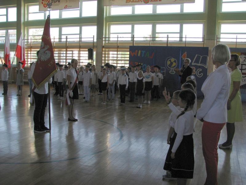 Fotografie z artykułu: Uroczysta inauguracja roku szkolnego 2016/17