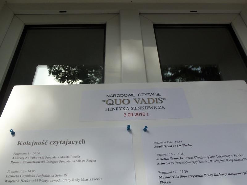 Fotografie z artykułu: Wspólnie czytamy Qvo Vadis