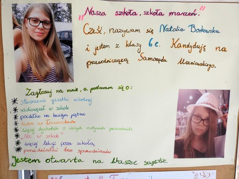 Fotografie z artykułu: Wybory do Samorządu Uczniowskiego klas IV-VI