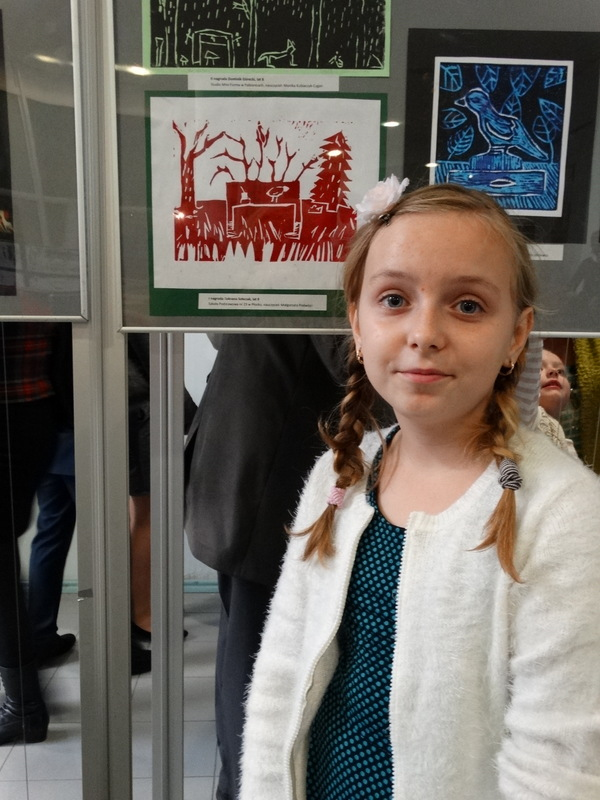 Fotografie z artykułu: VIII Ogólnopolskie Biennale Grafiki Dzieci i Młodzieży - mamy laureatów!!!