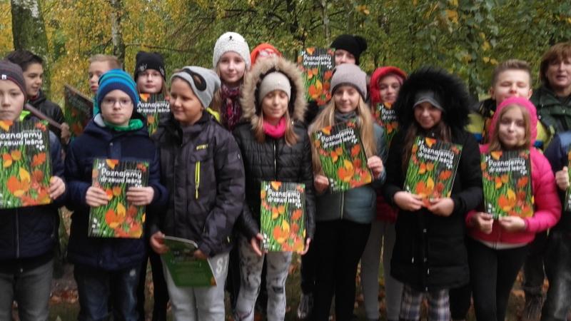 """Fotografie z artykułu: """"Park Północny bez tajemnic"""" dla uczniów klasy 5B"""