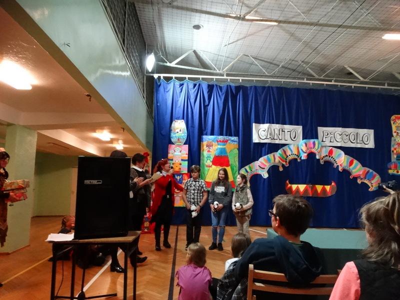 Fotografie z artykułu: Mamy laureatki XVI Powiatowego Międzyszkolnego Konkursu Piosenki Dziecięcej 'Canto Piccolo'!