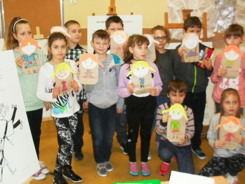 Fotografie z artykułu: Pippi Pończoszanka w naszej szkole
