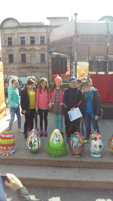 Fotografie z artykułu: I miejsce w konkursie 'Zaczarowane jajeczka'