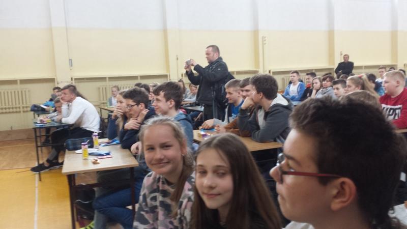 Fotografie z artykułu: II miejsce w eliminacjach miejskich  Ogólnopolskiego Turnieju Bezpieczeństwa w Ruchu Drogowym.