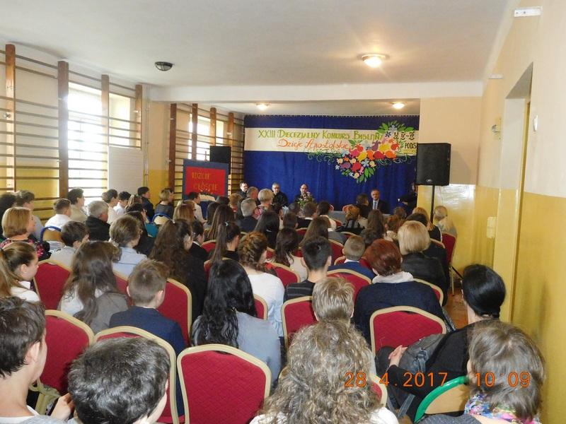 Fotografie z artykułu: Finał XXIII Diecezjalnego Konkursu Biblijnego dla szkół podstawowych