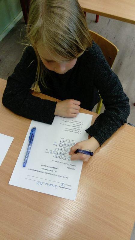 Fotografie z artykułu: Finał konkursu ortograficznego pod hasłem 'Mistrz ortografii'