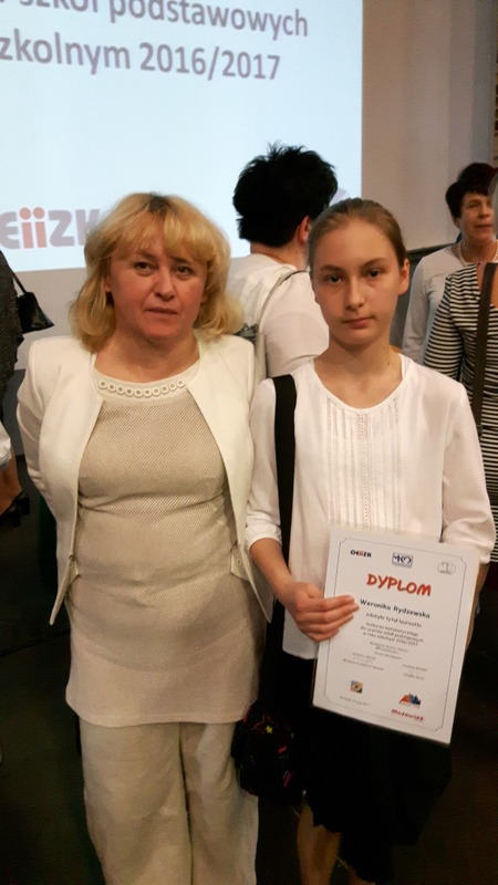 Fotografie z artykułu: Weronika laureatką, a Igor i Szymek finalistami Wojewódzkiego Konkursu Matematycznego!