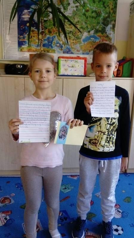 Fotografie z artykułu: Piszemy listy!