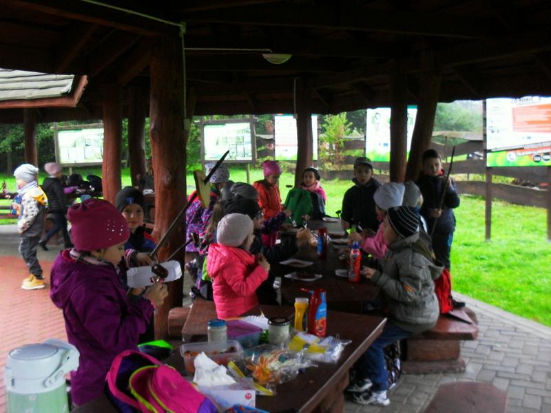 Fotografie z artykułu: Piknik integracyjny pierwszaków