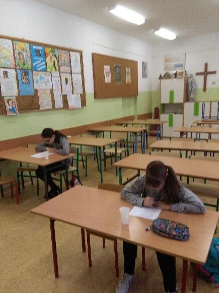 Fotografie z artykułu: Sukcesy w konkursach biblijnych