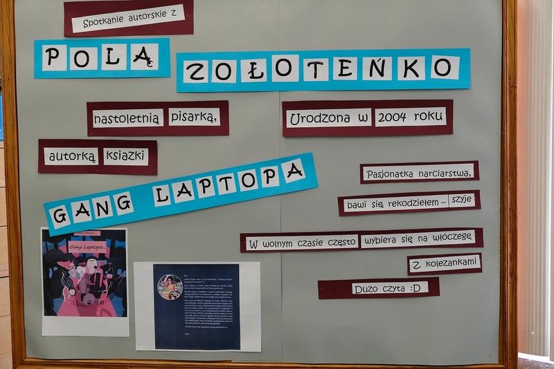 Fotografie z artykułu: Spotkanie autorskie - Pola Zołoteńko.