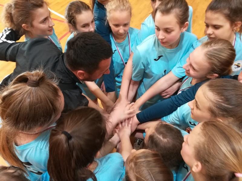 Fotografie z artykułu: Wygrały rozgrywki powiatowe, jadą na Igrzyska Mazowieckie!