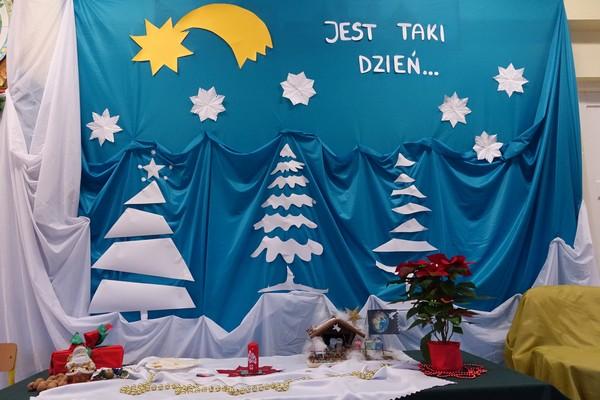 Fotografie z artykułu: Wigilia w świetlicy szkolnej