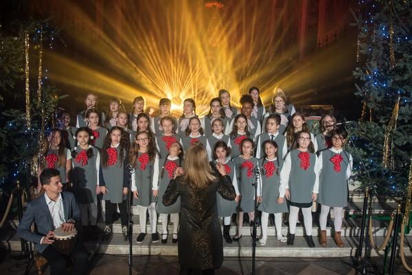 Fotografie z artykułu: Nasz chór na 24. edycji Płockiego Kolędowania w katedrze