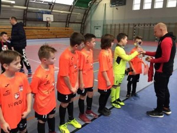 Fotografie z artykułu: Mistrzostwo Płocka w piłce nożnej chłopców klas czwartych