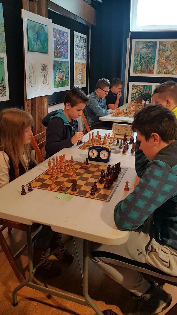 Fotografie z artykułu: Turniej Szachowy