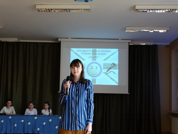 Fotografie z artykułu: Gabriela Popławska laureatką Festiwalu Piosenki Angielskiej!