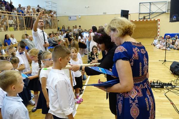 Fotografie z artykułu: Uroczysta inauguracja roku szkolnego 2019/20
