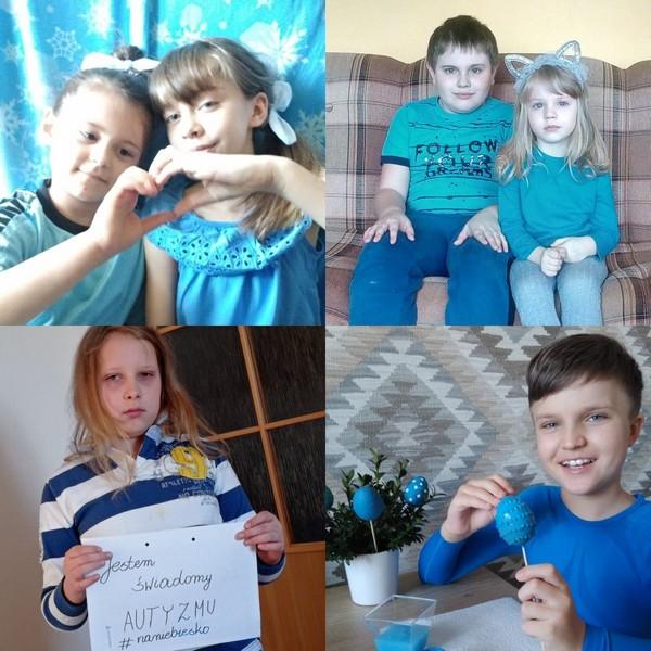 Fotografie z artykułu: '2 kwietnia POLSKA NA NIEBIESKO-  w domu!'