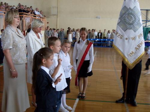Fotografie z artykułu: Uroczyste rozpoczęcie roku szkolnego 2008/2009